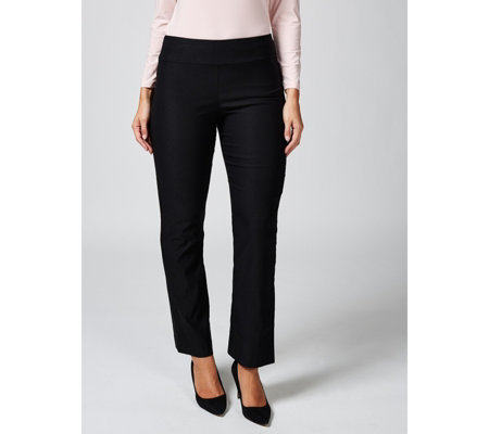 Mr Max Modern Stretch Contour Waist Soft Flare Trousers Petite