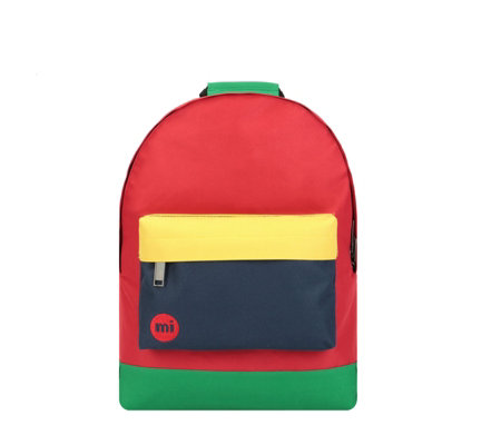 afaa4bc399f6 Mi-Pac Mini Colour Block Backpack - QVC UK