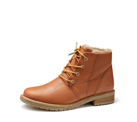Outlet Emu Explore Waterproof Kan Leather Sheepskin Lace Up Boot