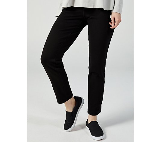 Women with Control Renee's Reversible's Prime Stretch Denim Petite Trouser