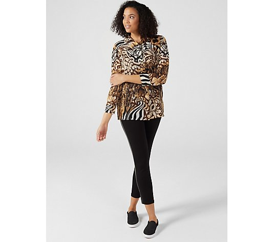 Artscapes African Print Georgette Shirt