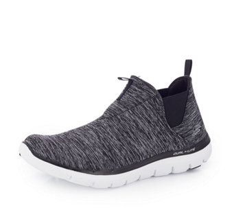 Skechers Flex Appeal 2.0 High Card Heathered Mesh Chelsea Boot - 167302