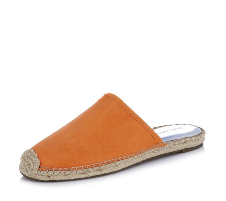 Marc Fisher Gift Suede Espadrille Slider Mules