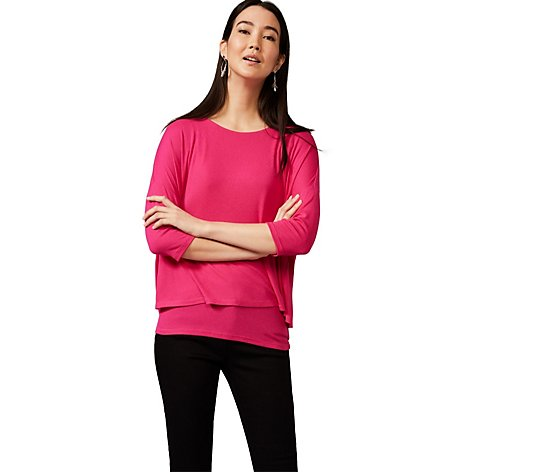 Phase Eight Double Layer Round Neck Top