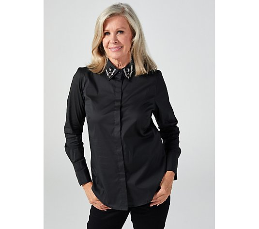 Ruth Langsford Embellished Collar Shirt