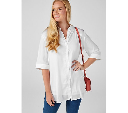 Ruth Langsford Long Line Shirt