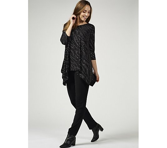 Antthony Designs Oversized Tunic with Keyhole Back Detail