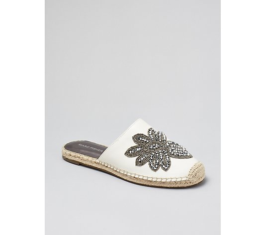 Marc Fisher Garden Embellished Espadrille Slider