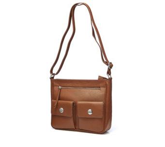 Amanda Lamb Double Pocket Crossbody Bag - 172205 dd5ca8c31e822