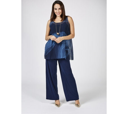 WynneLayers Washed Modal Wide Leg Trousers
