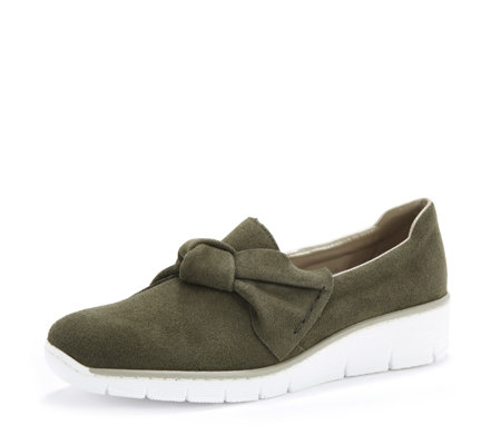 Rieker Bow Top Slip On Trainer