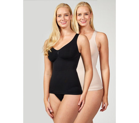 Vercella Vita Medium Control Essentials Cami Pack of 2