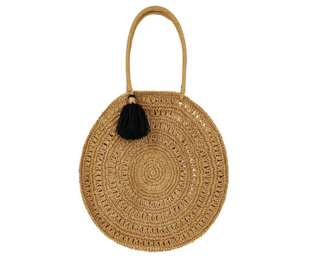 Monsoon Selma Soft Round Crochet Bag