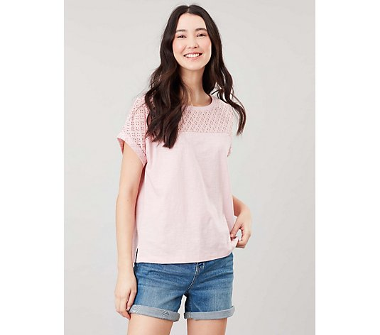 Joules Cassi Mix Jersey Top