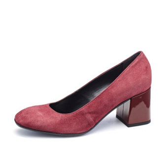 Manas Suede Court Shoe - 168207