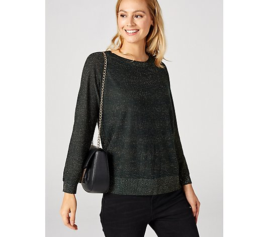 Together Metallic Lurex Sweater