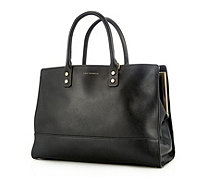 Lulu Guinness Daphne Smooth Leather Tote Bag with Shoulder Strap - 164108