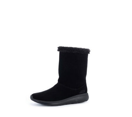 Skechers On the GO City 2 Suede Mid Calf Boot with Faux Fur Lining