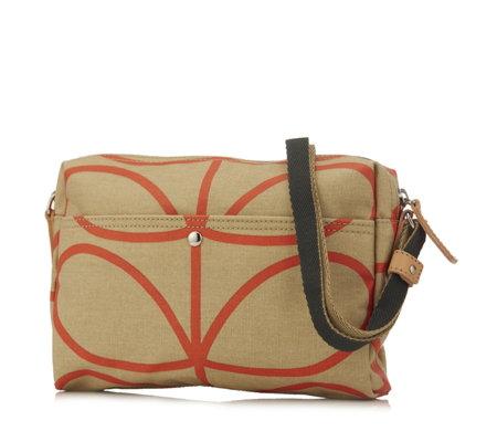 59aff2f346 Orla Kiely Giant Linear Stem Small Crossbody Bag - QVC UK