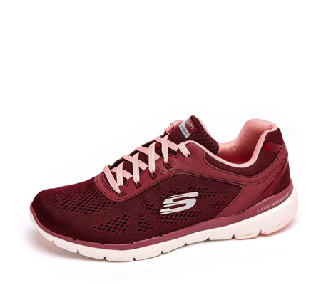 Skechers Flex Appeal 3 Moving Fast Engineered Mesh Lace Trainer