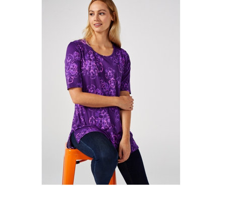 Antthony Designs Printed Tunic with Side Splits