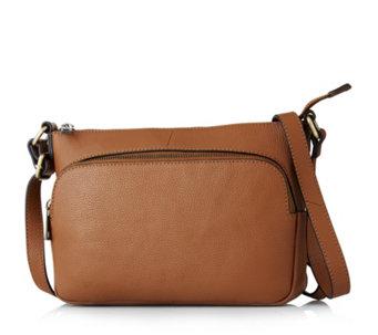 Amanda Lamb Medium Leather Crossbody Bag - 168409 8c50cc3fd531a