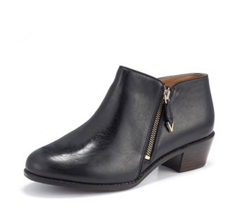 5b05f94864ee Vionic Orthotic Joy Jolene Leather Ankle Boot w  FMT Technology - 172709