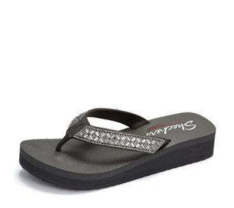 46128ef2b4e2 Skechers Cali Embellished Flip Flop - 176009