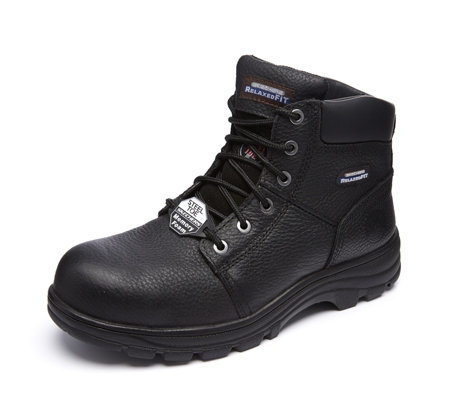clear and distinctive variousstyles many fashionable Skechers Men's Workshire Steel Top Non Slip Boot - QVC UK