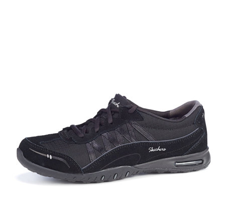 c7ccb3a168d0 Skechers Relaxed Fit Easy Air Day by Day Lace Up Trainers - QVC UK
