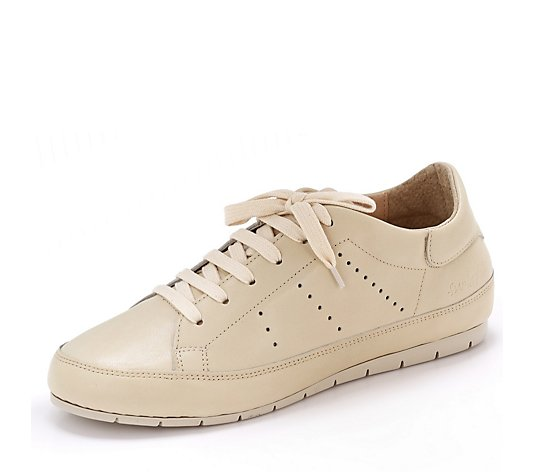 Manas Delfi Leather Lace Up Trainer