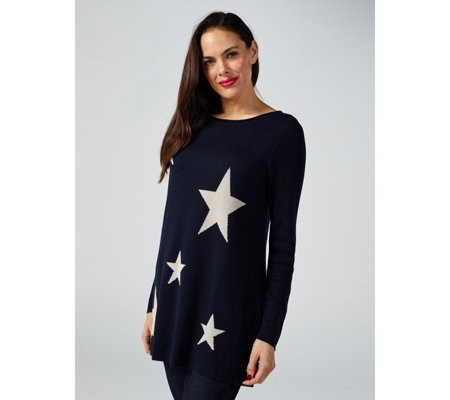 Together Star Detail Sweater