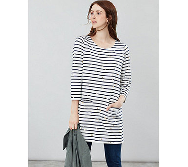 Joules Quinn Tunic with Pockets - 175512