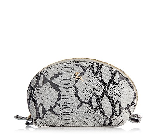Ashwood Phillipa Snake Finish Cosmetic Bag