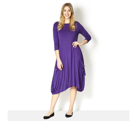 Join Clothes Jersey Tulip Pocket Dress