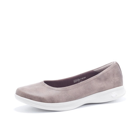 Skechers GO STEP Lite Mystic Perform Tex Ballet Flat Shoe