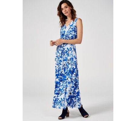 Together Twist Front Maxi Dress