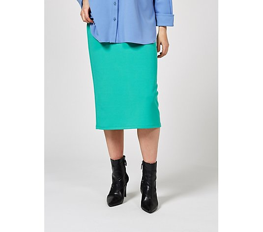 Ben de Lisi Jersey Pencil Skirt