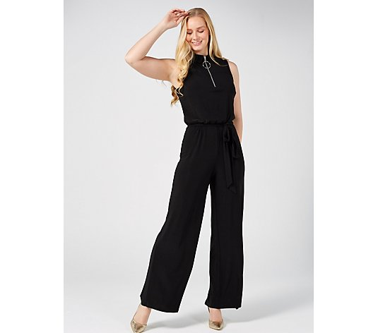 Coco Bianco Sleeveless Jumpsuit with Zip