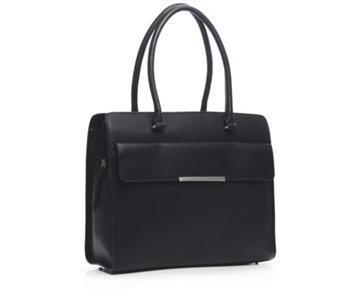Amanda Lamb Large Leather Triple Compartment Work Bag 172214