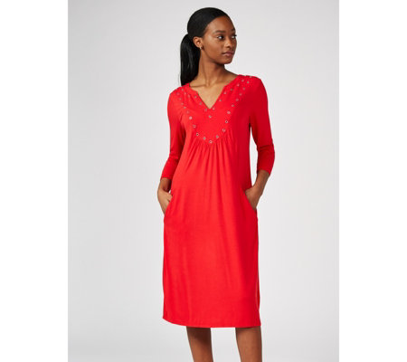 Together Eyelet Detail Dress
