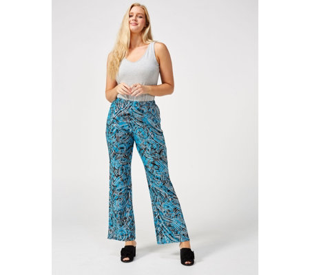 Antthony Designs Printed Palazzo Trousers