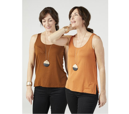 WynneLayers Essentials Jersey Set of 2 Tops