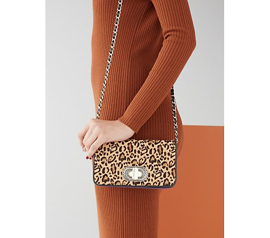 Aimee Kestenberg After Hours Turn Lock Small Chain Crossbody Bag