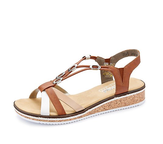 Rieker Multi-Coloured Straps Sandal