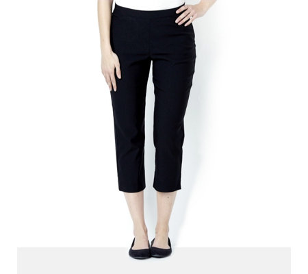 Mr Max Crop Trouser with Mesh Panel Insert & Slant Pockets