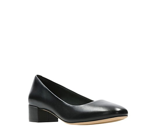 Clarks Orabella Alice Block Heel Court Standard Fit