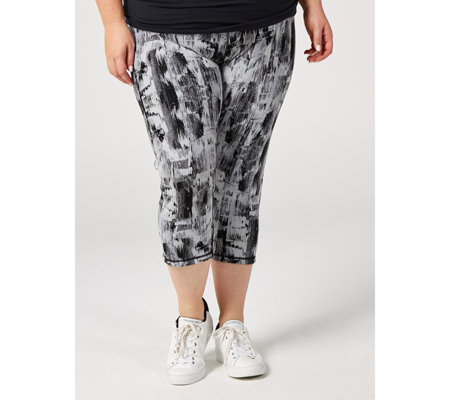Renee's Reversible Tummy Control Cropped Trousers Regular
