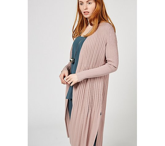 Outlet MarlaWynne Pleated Knit Duster