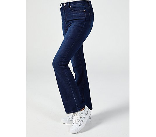 Diane Gilman High Rise Wide Leg Jean Tall